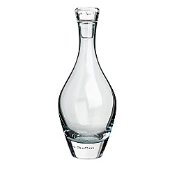 Betty Jackson.Black - Blue 'Bubble' decanter