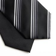 Pack of two grey ties
