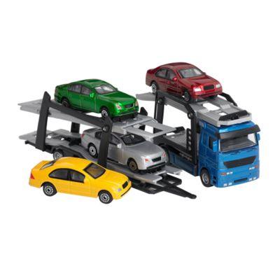 Dickie Die cast car trailer - . -