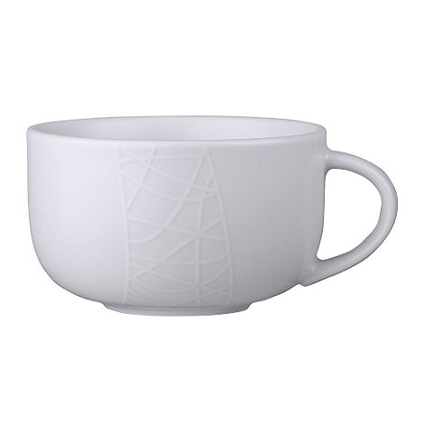 Jamie Oliver - White on white tea cup