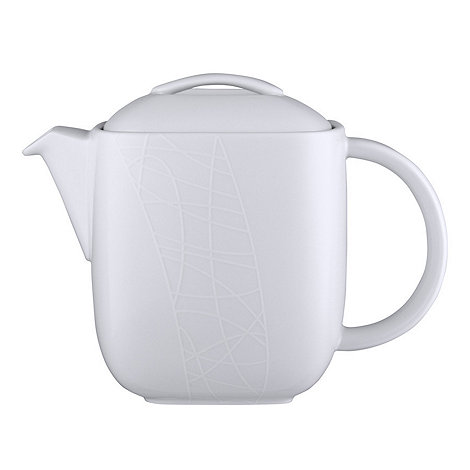 Jamie Oliver - White on White+ teapot