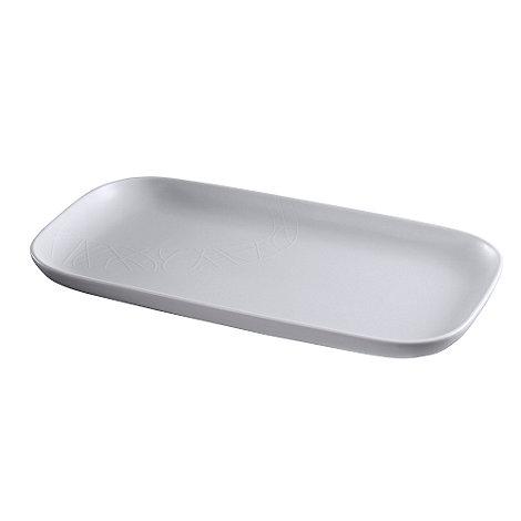 Jamie Oliver - White on white large plate