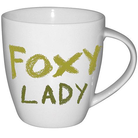 Jamie Oliver - White +Foxy lady+ mug