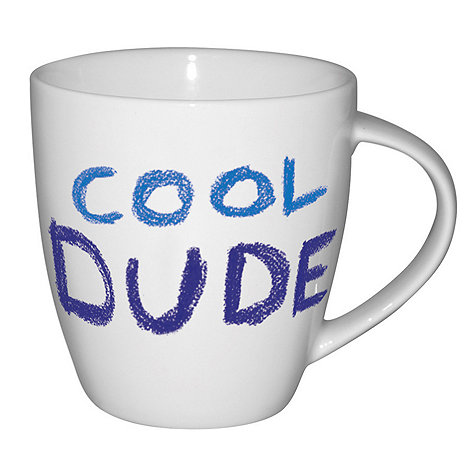 Jamie Oliver - White 'Cool dude' mug
