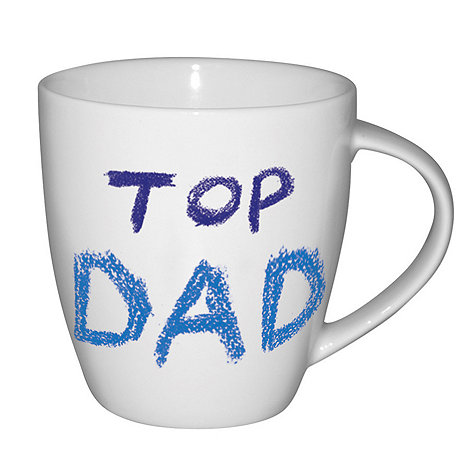 Jamie Oliver - White +Top dad+ mug