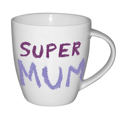 Jamie Oliver - White +Super mum+ mug