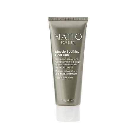 Natio - For Men Muscle Soothing Heat Rub, 110g