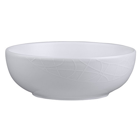 Jamie Oliver - White on white small bowl