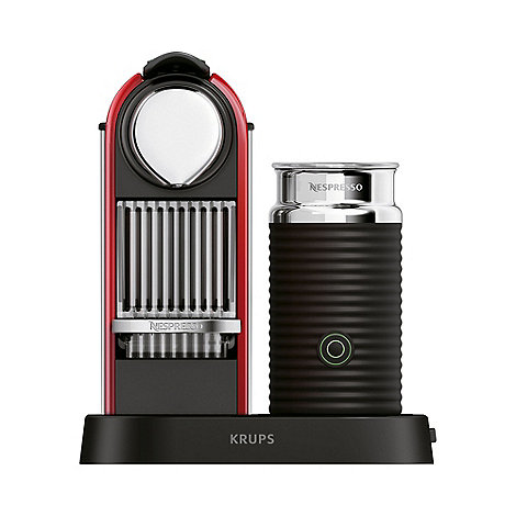 Krups - Nespresso +Citiz & Milk+ XN7106 Red coffee machine by Krups