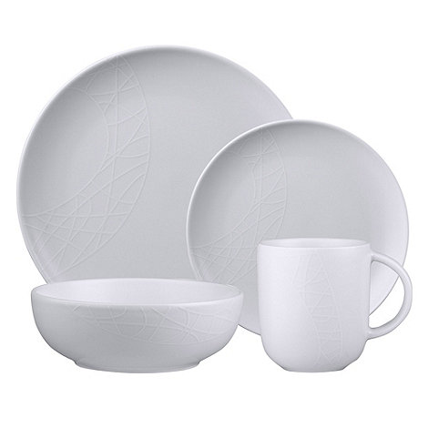 Jamie Oliver - White sixteen piece dinner set