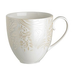 Denby - Cream 'Monsoon Lucille' large mug