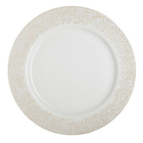 Denby - Monsoon Lucille Gold dinner plate