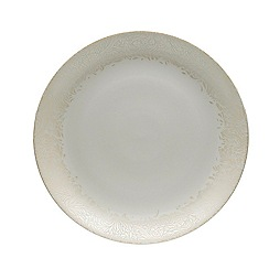 Denby - Cream glazed 'Monsoon Lucille' serving platter