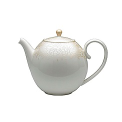 Denby - Cream glazed 'Monsoon Lucille' teapot