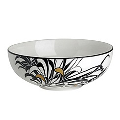 Denby - Glazed 'Monsoon Chrysanthemum' cereal bowl