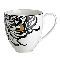 Denby - Glazed 'Monsoon Chrysanthemum' large mug