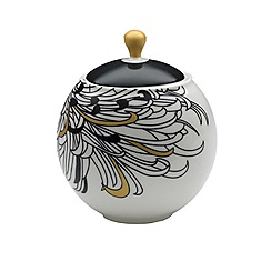Denby - Monsoon Chrysanthemum sugar bowl