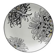 Denby 'Monsoon Chrysanthemum' platter