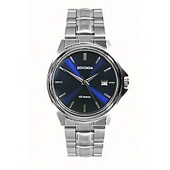 Sekonda - Men's blue sunray dial bracelet watch