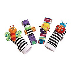 Lamaze - Wrist rattle & foot