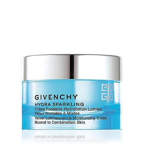 Givenchy - +Hydra Sparkling+ velvet luminescence moisturising cream 50ml
