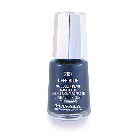 Mavala - Mini colour deep blue nail polish