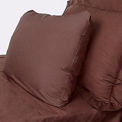 Debenhams - Chocolate Egyptian cotton bed sheets