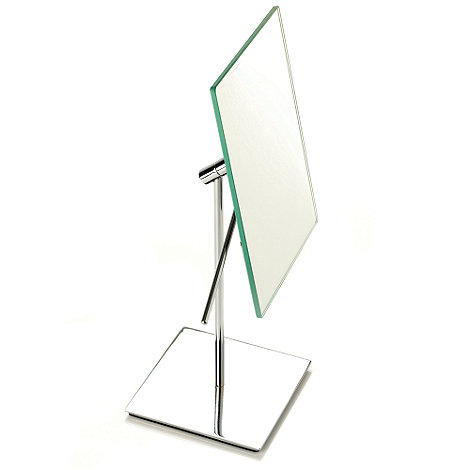 J by Jasper Conran - Chrome plated pedestal mirror