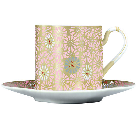 Wedgwood - Pale pink tea cup & saucer