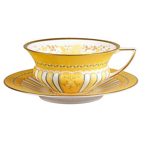 Wedgwood - Yellow tea cup & saucer