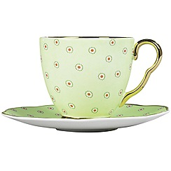 Wedgwood - Green tea cup & saucer