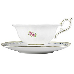 Wedgwood - White tea cup & saucer