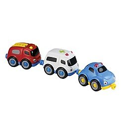 Early Learning Centre - Emergency trio vehicle set