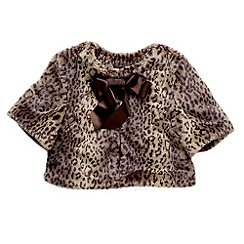 Red Herring - Girl's brown leopard print jacket