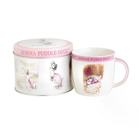 Queens by Churchill - Jemima Puddle-Duck mug in a tin