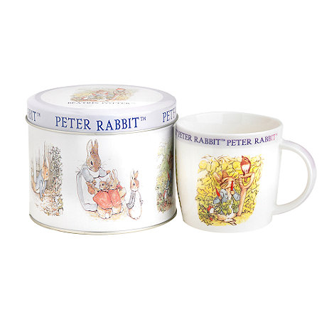 Queens by Churchill - Peter Rabbit mug in a tin