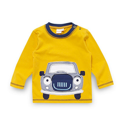 bluezoo - Babies yellow applique car top