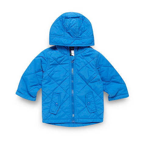 bluezoo - Babies blue quilted jacket