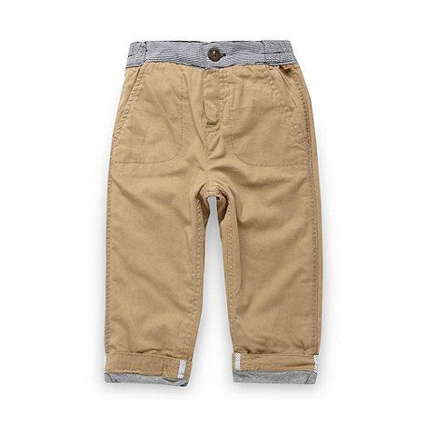 J by Jasper Conran - Designer babies beige casual trousers