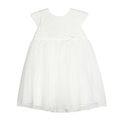 RJR.John Rocha - Baby girls' white lace party dress