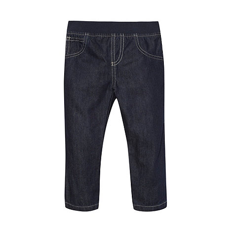 bluezoo - Babies dark blue unlined jeans