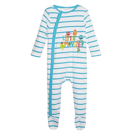 bluezoo - Babies blue striped suit