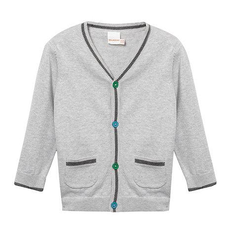 bluezoo - Babies grey two pocket cardigan