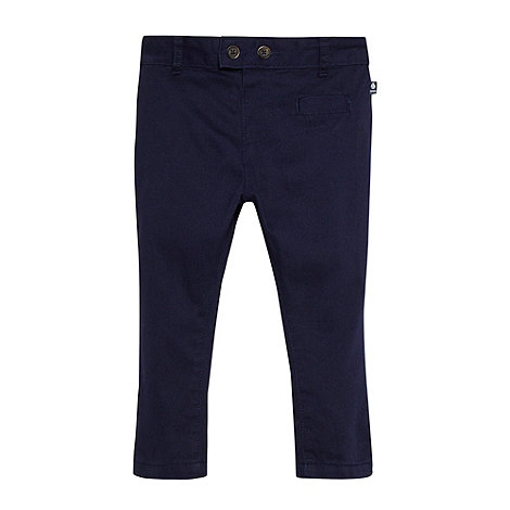 J by Jasper Conran - Designer babies navy trousers