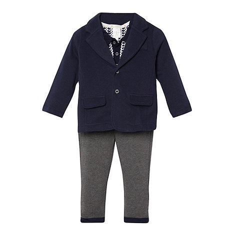 J by Jasper Conran - Designer boy+s three piece blazer, top and trousers