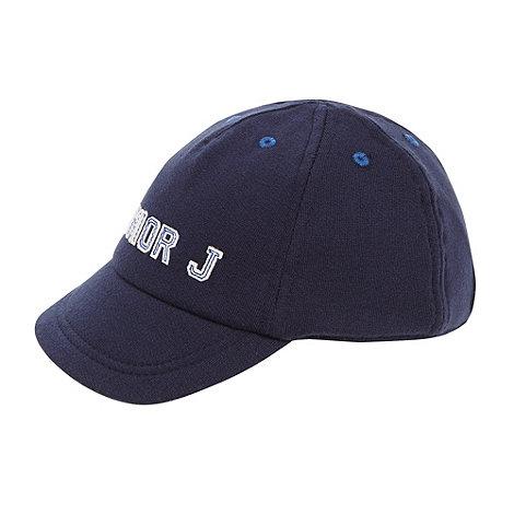 J by Jasper Conran - Designer navy jersey soft baseball cap