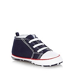 J by Jasper Conran - Baby's navy booties