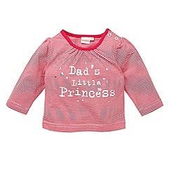 bluezoo - Babies pink 'Dad's Little Princess' top