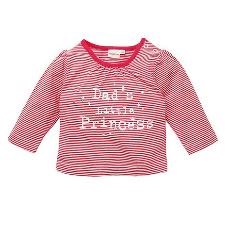 bluezoo - Babies pink +Dad+s Little Princess+ top
