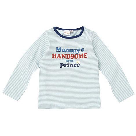 bluezoo - Babies blue +Mummy+s Little Prince+ top